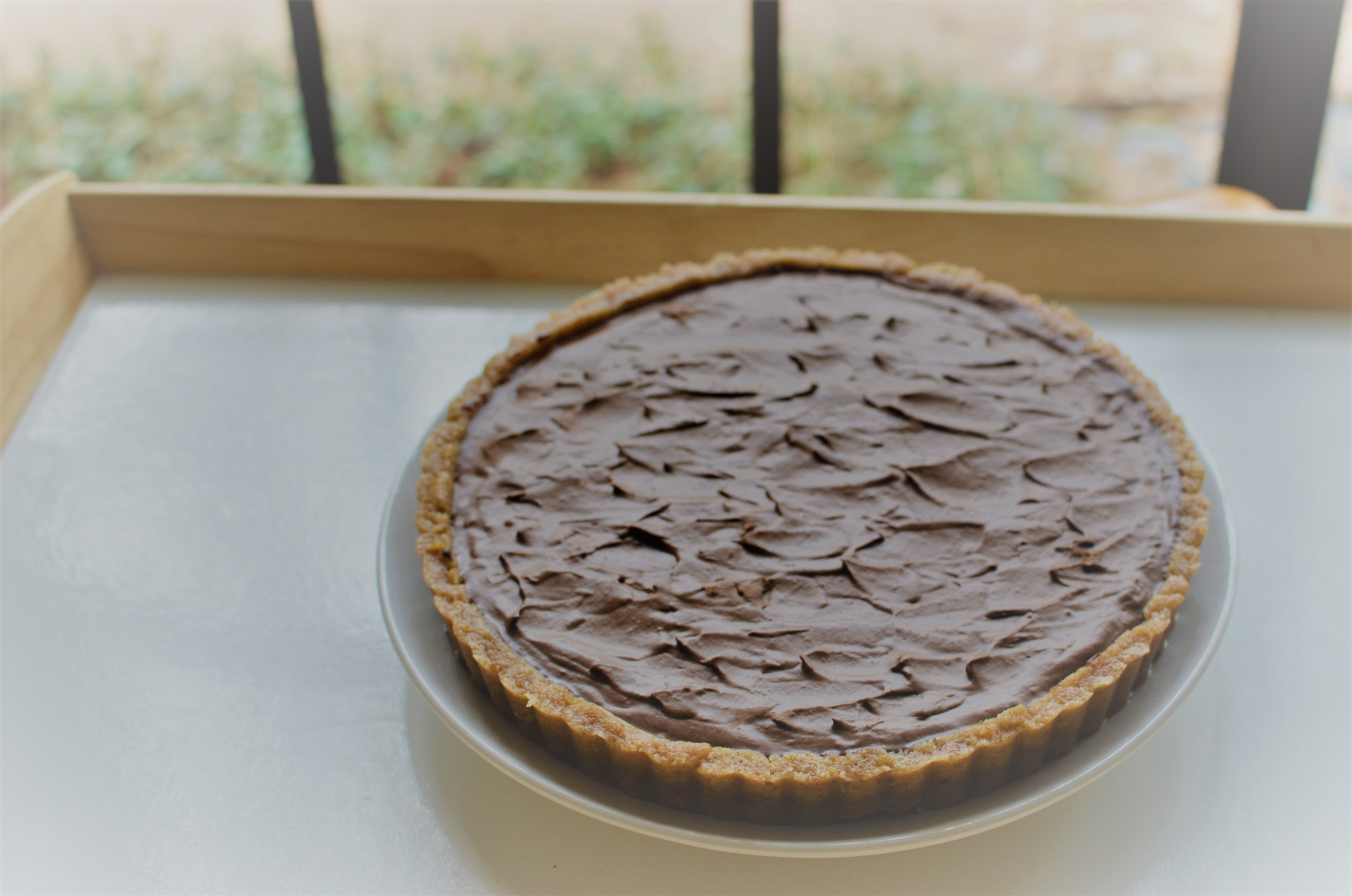 Recipe: Decadent Chocolate Tart (with an orange-chocolate option)